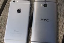 iPhone 6 vs Htc one