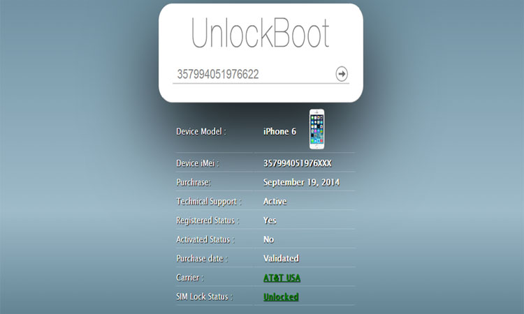 iphone 6 imei servis