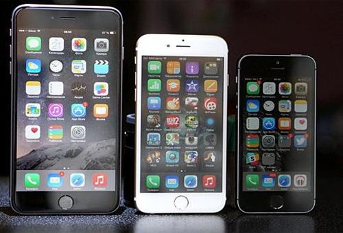 Сравним размеры последних моделей apple