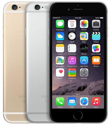 Цветовое исполнение iphone 6