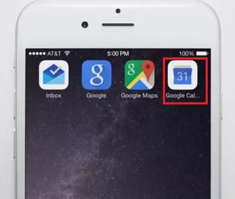 Значок календаря google