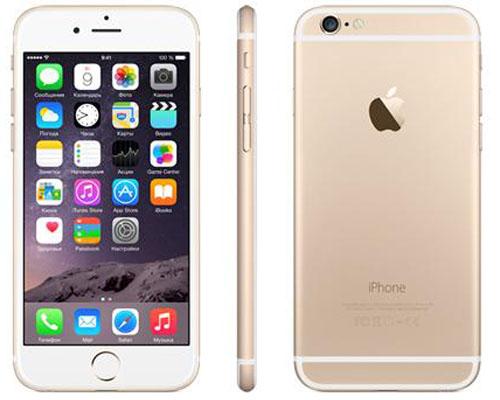 iphone 6 в окраске gold