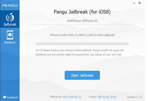 Программа Pangu Jailbreak