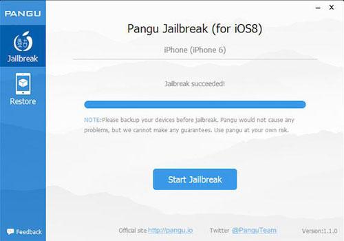 Pangu Jailbreak завершение процесса