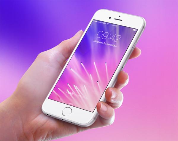 Розовые обои телефона