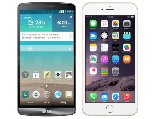Lg g3 vs iPhone 6