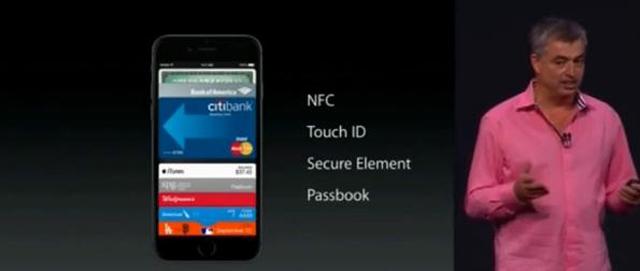ApplePay работает на основе чипа NFC