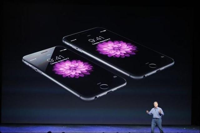 Iphone 6  на презентации