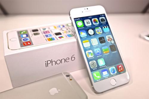 Коробка и iPhone 6