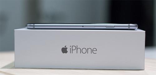 Коробка  iPhone сбоку