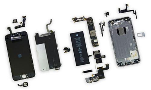 Разобранный iPhone 6