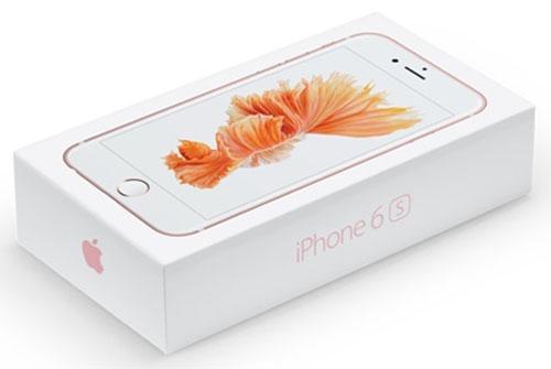Коробочка с iPhone 6s