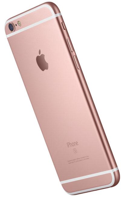 Вид сзади iPhone 6s