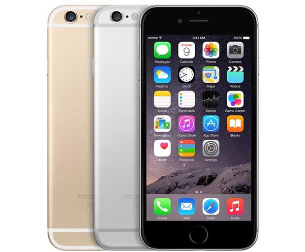 Цвета iPhone 6 - черный, серебристый и золотой