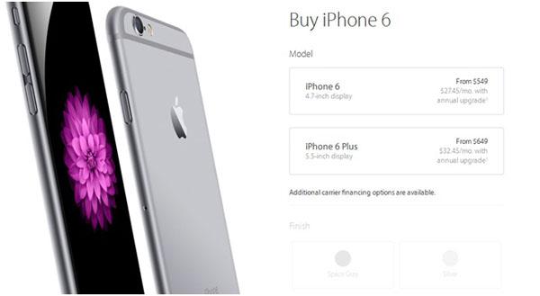 Экран и задняя панель iPhone 6