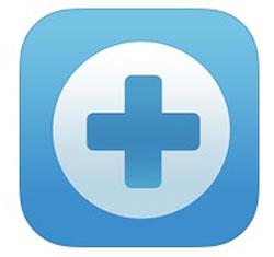 Приложение Rescue+Mobilefor iOS и его логотип