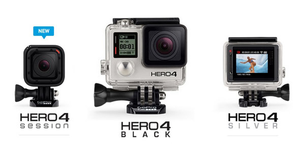 Серия Hero от GoPro - линейка камер