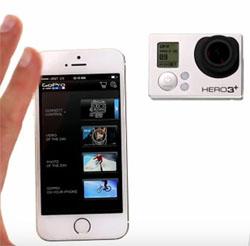 Экран iРhone 6 можно использовать как видоискатель для камеры Hero