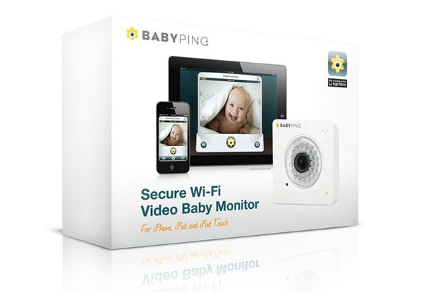 Коробка от видеоняни Baby Ping