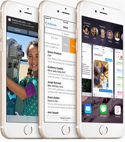 iPhone 6 - 3 штуки с различными картинками на экране