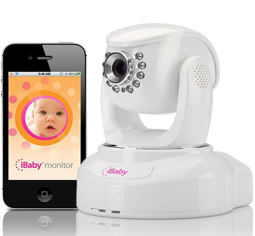 iPhone и видеоняня iBaby Monitor M3s