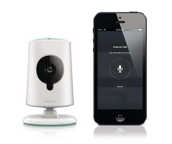 iPhone и видеоняня от от Philips