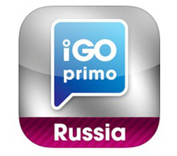 Эмблема приложения igo Primo Russia