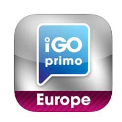 Эмблема приложения igo primo Europe