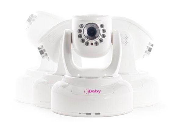 Поворотный механизм камеры iBaby_Monitor_M3s в разных положениях