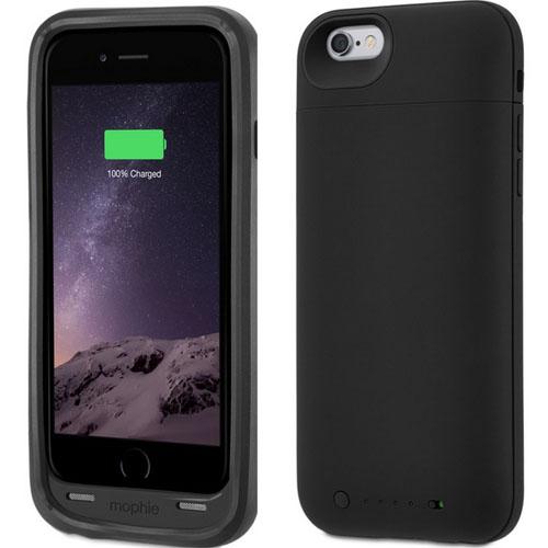 Чехол-аккумулятор Juice Pack Plus надет на iPhone 6