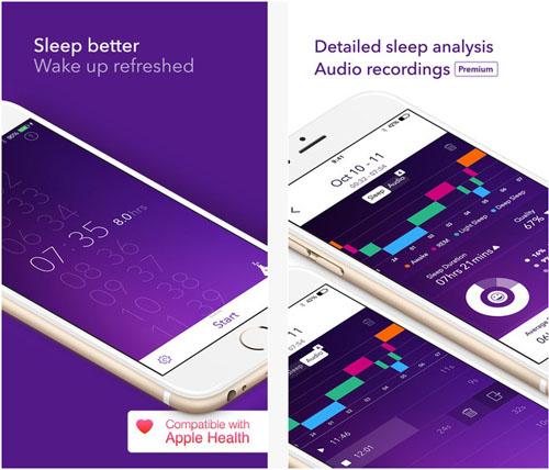 Приложение Pillow, установленное на iPhone 6