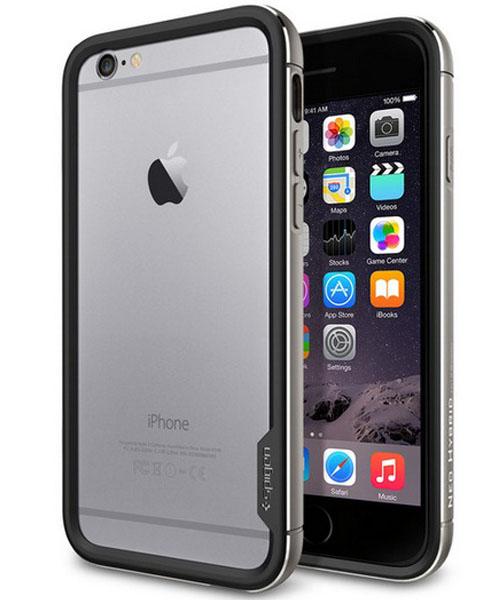 iPhone 6 и бампер Case Neo Hybrid EX Metal