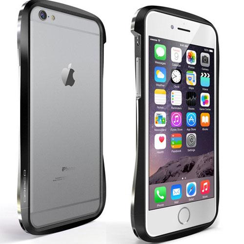 На iPhone 6 надет бампер DRACO 6