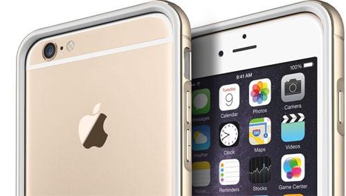 iPhone 6 и бампер Iron сзади и спереди
