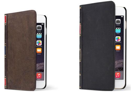 Телефоны iPhone 6 и 6plus в чехлах bookbook