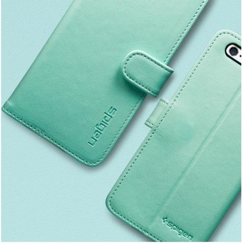 Wallet S чехол-книжка мятного цвета с застежкой-клапаном