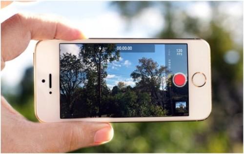 Режим съемки iPhone 6 в солнечный день