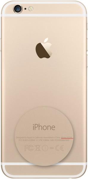 Код на задней панели iPhone 6