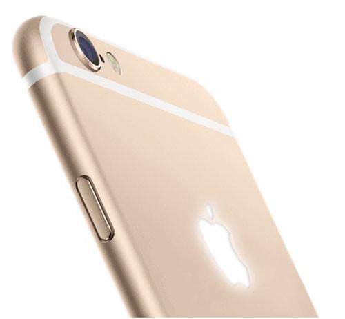 Светящееся яблоко у iPhone 6