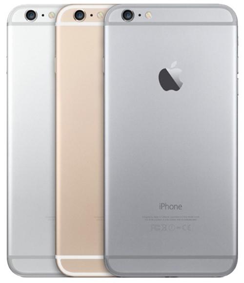 Цвета iPhone 6