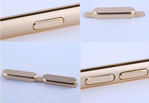 Защитные накладки на кнопки iPhone бампера Halo Metal Bumper Remax
