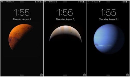 Обои с планетами для ios9