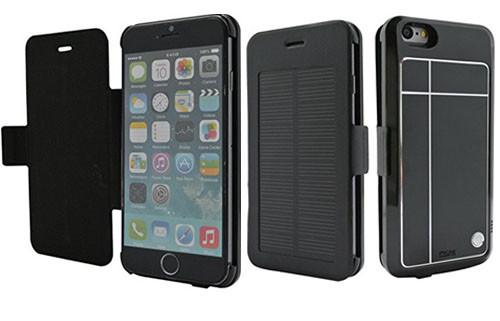 Аккумулятор-чехол на солнечных батареях для iPhone 6