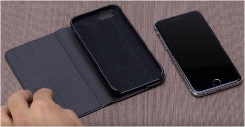 Чехол Vettra и специальная вкладка для крепления айфона
