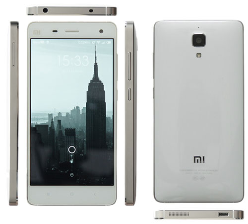 Вид сзади .спереди ,сбоку смартфона Xiaomi mi4