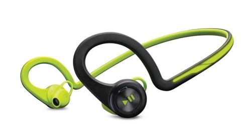 Зеленые наушники BackBeat Fit