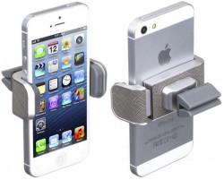 Вид сзади и спереди iPhone 6 и автодержателя DashCrab