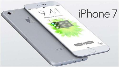 Вид спереди и сзади iPhone 7