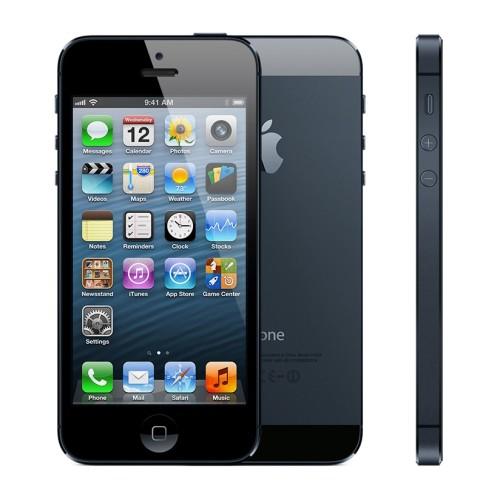 Вид спереди, сзади и сбоку iPhone 5