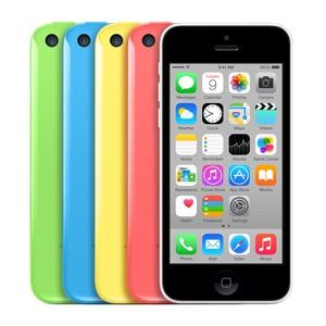 iPhone 5C в разных цветах